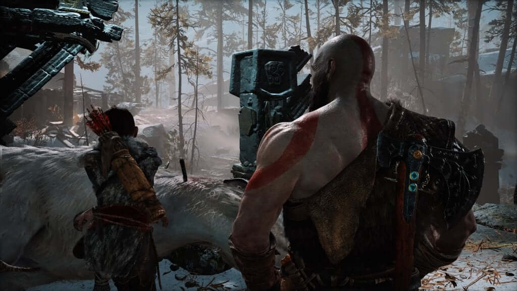 God of War Geyik Avı